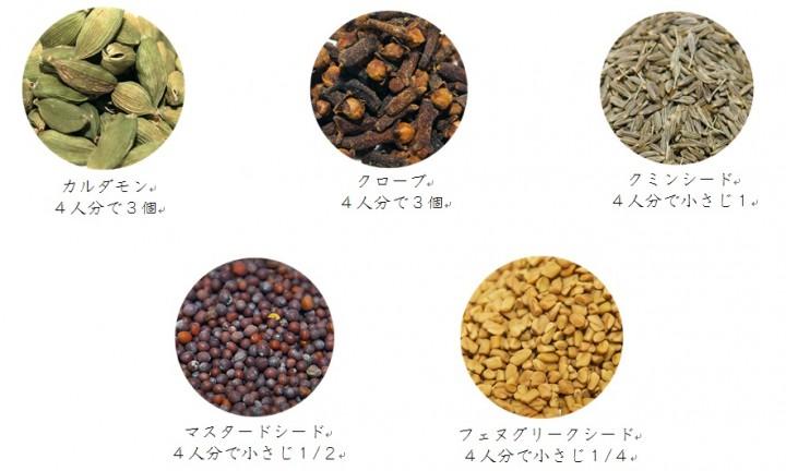 11種類のスパイスを独自にブレンドしたミックススパイスです。香りが命なので、最後の仕上げに加えます。食欲を刺激するスパイシーな香りが特徴です。